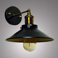 Industrial Loft Antique Black Wall Light