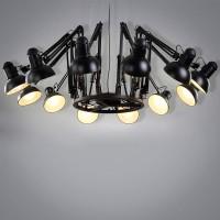 Edison Swing Lamp Chandilier 12L Pendant Light