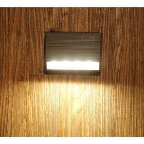 Outdoor led Wall Light IP65, Warm White,4 watts