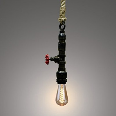 Waterpipe Rope Pendant Light