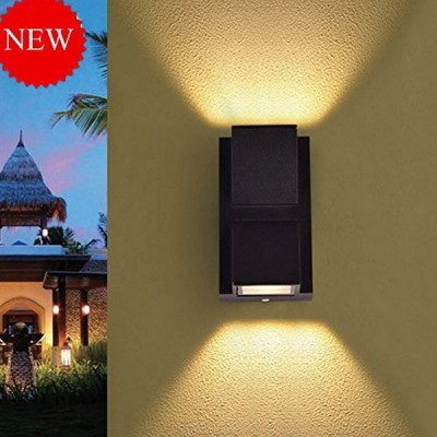 Outdoor led Wall Light IP65, Warm White, 6 watts