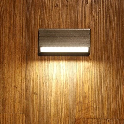 Outdoor Led Wall Light IP65, Warm White, 8 watts