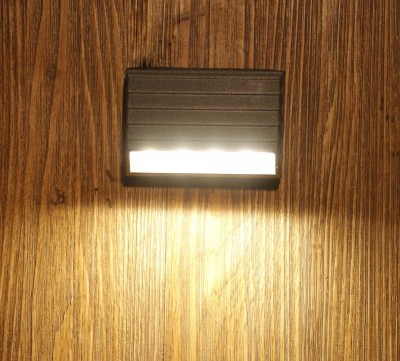Outdoor led Wall Light IP65, Warm White,4 watts