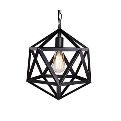 Industrial Hexagon Pendant Light