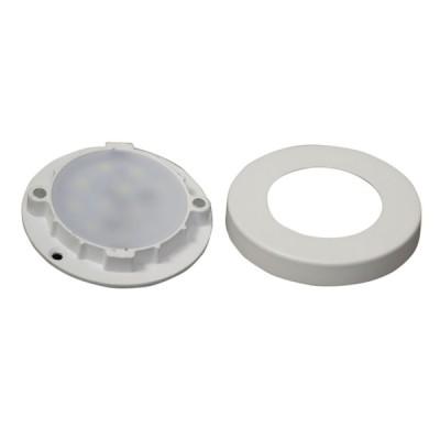 Led Surface Panel, SLIM Round Style, Warm white (3.00 Watts) Set of 4
