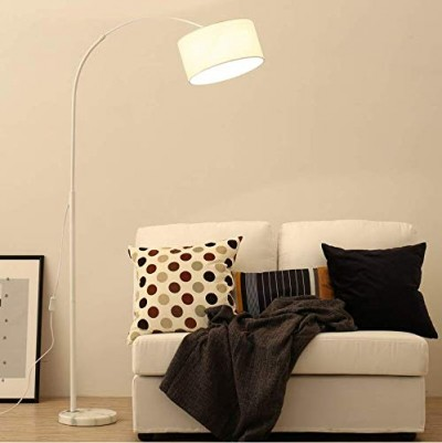 Simple Arch Floor lamp (White)