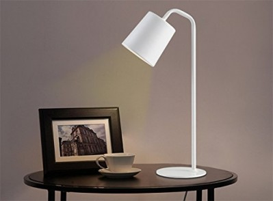 Simple Nordic Table Lamp White