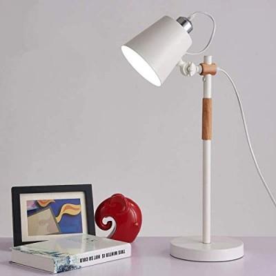 Retro Nordic Table Lamp (White)