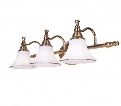 Astheic French Gold Triple Picture Light