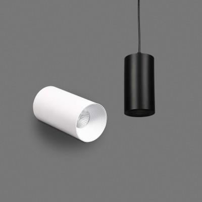 Glitz Led Pendant Light 12w Warm White(Black,Pack of 2)