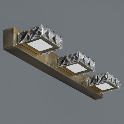Crystal Antique Mirror Light (3Lamps)