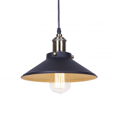 Industrial Loft Textured Antique Pendant Light