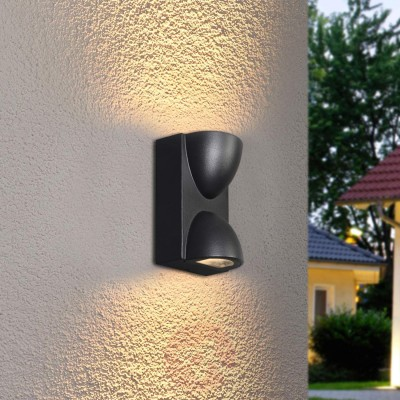 Glitz Outdoor Led Wall Washer Warm White (10watts)
