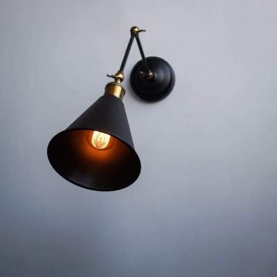 Scandinavian Loft Double Arm Adjustable Wall Light